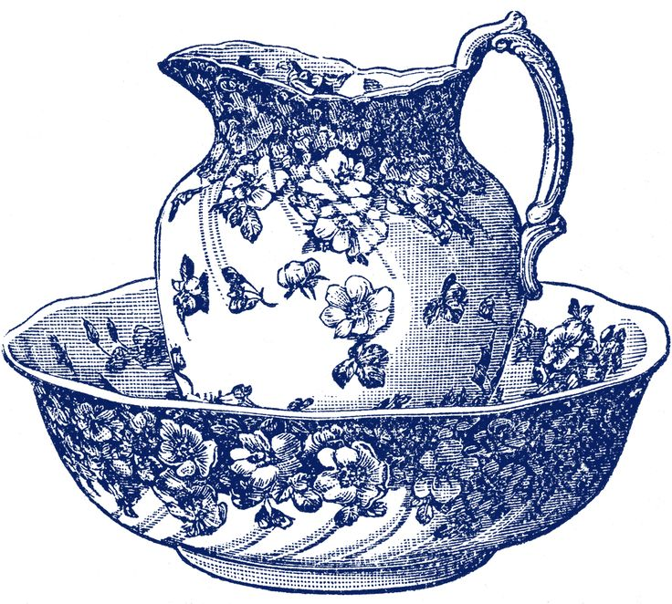 Old Fashion Teapot Clipart