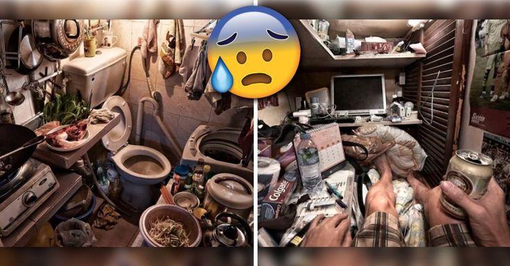 Impactante, al rededor de 100 mil personas en Hong Kong viven en casa o cubículos ataúd, que son diminutas viviendas con espacio incluso insuficiente para estirar los pies mientras estás 'descansando' en la cama.