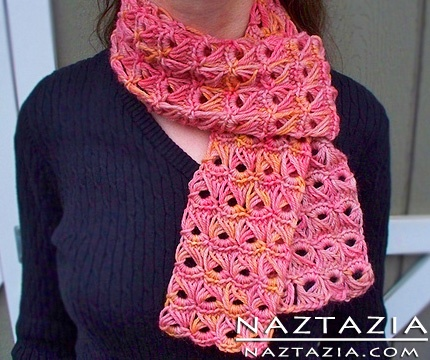 Broomstick Lace Scarf with Help Video - Ravelry - a knit
