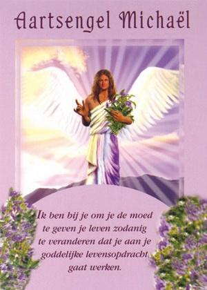 Engelenkaart Aartsengel Michaël