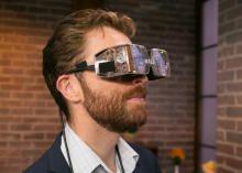 Avegant Virtual Retinal Display - Wearable tech - CNET Reviews