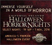 2-Park Bonus Halloween Horror Nights Ticket