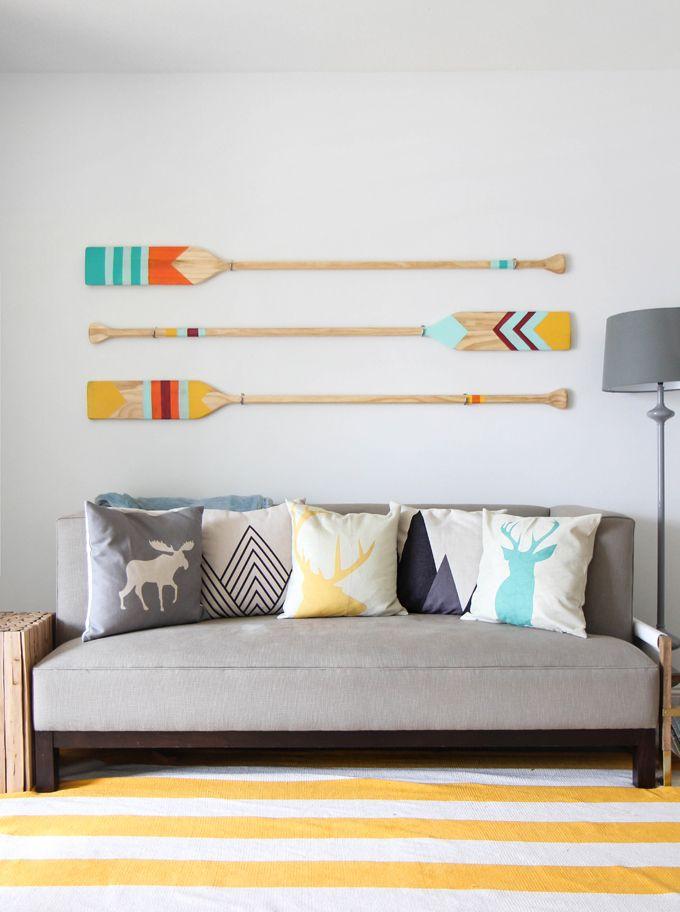DIY - Colourful camp oars | www.homeology.co.za