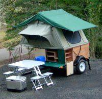 CompactCampingConcepts.com Great Idea for an economical camper!