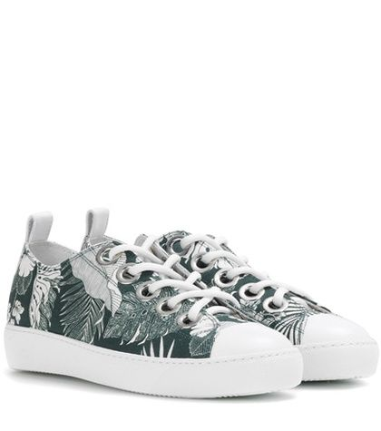 N°21 Printed Sneakers For Spring-Summer 2017