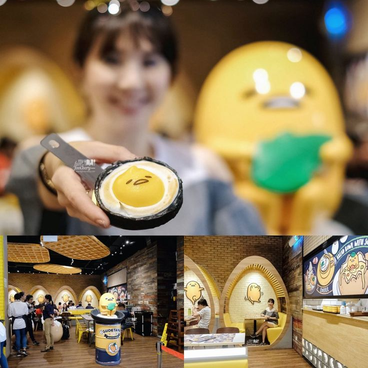 [NEW SINGAPORE] Gudetama Themed Cafe with Egg-citing Dishes