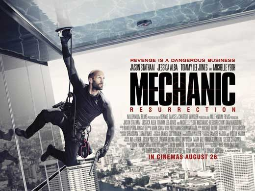 Mechanic: Resurrection (2016) 30x40 Movie Poster