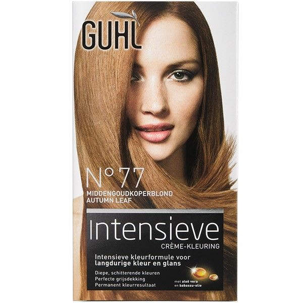 Guhl intensieve crème-kleuring no 77, Midden Goud Koper Blond 4072600218778