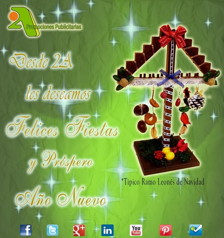 ¡¡ Para tod@s desde 2A os deseamos una muy Feliz Navidad y una gran salida y mejor entrada de año!!