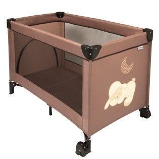 Travel cot Cappuccino brown with 2 wheels and a zipper entry 120x60cm - #baby #bebe #doudou #knuffel #knuffelbeer #cuddlytoy #kuscheltier #nattou #papa #mama #mom #dad #father #mother #parents #maman #grossesse #zwanger #pregnant #pregnancy #zwangerschap #enceinte #cuddly #peluche #plush #Plusch #schwanger #geboorte #geburt #birth #naissance #vater #eltern #mutter #ragdoll #toy #cadeau #gift #geschenk #lit #bed #bett #crib #Laufstall #travelcot #litpliant #reisbed #Reisebett #bruin #brown…