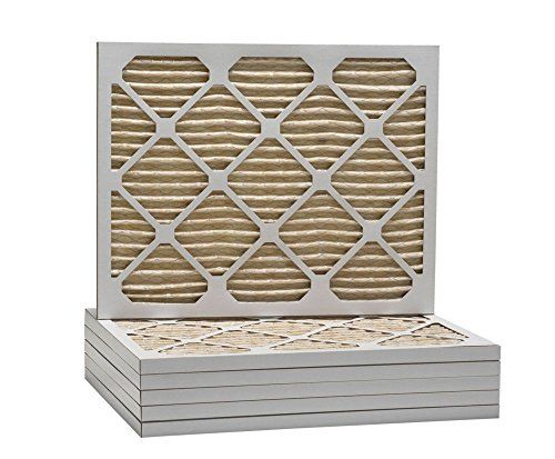ComfortUp WP15S.0119M21H - 19 7/8 x 21 1/2 x 1 MERV 11 Pleated HVAC Filter - 6 Pack