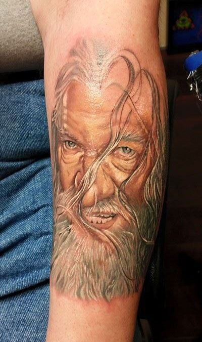 Sarah Miller Tattoo Gallery - Gandalf