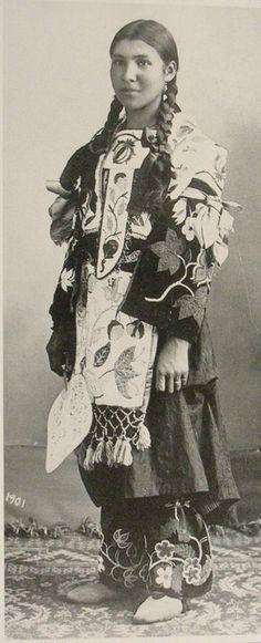 """""""Ojibwekwe"""" - 1901"""
