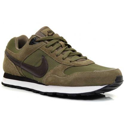 Nike Heren Sneakers MD Runner Suede/Dark Dune