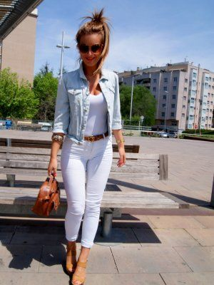 Outfits GoogleMy Pantalones Style Con Buscar Blancos OmNnv80w