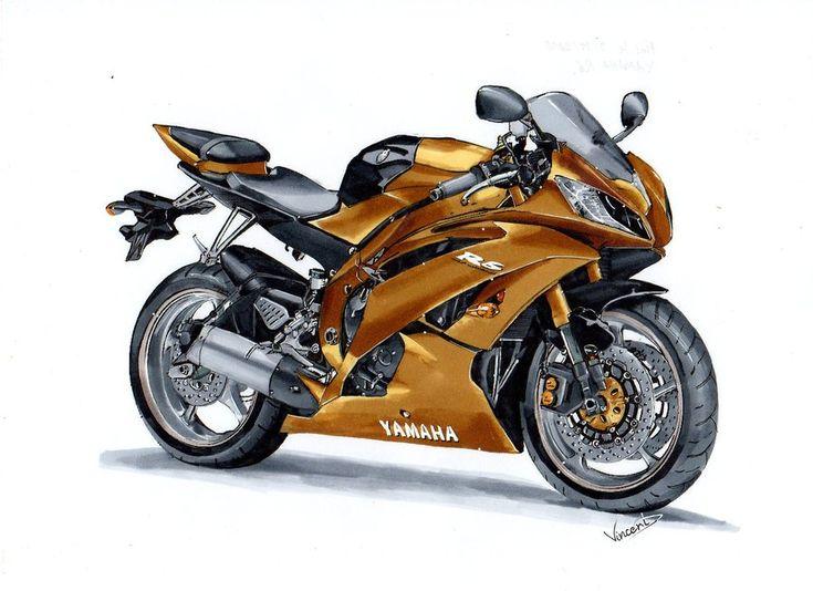Yamaha R6 by vsdesign69.deviantart.com on @DeviantArt