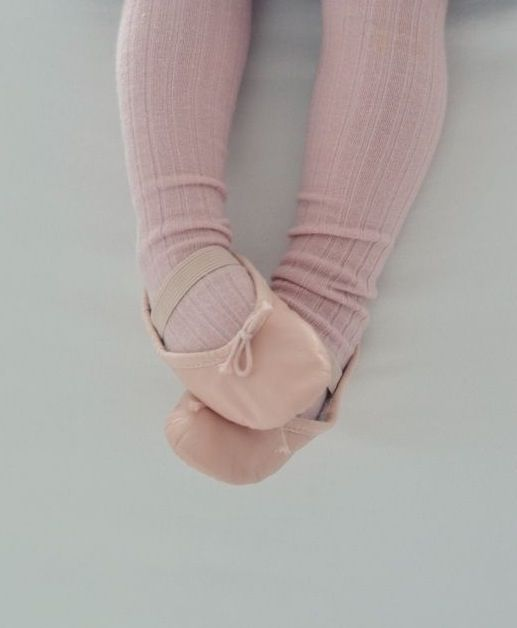 Adorable. Tiny ballet slippers. Where it all begins...
