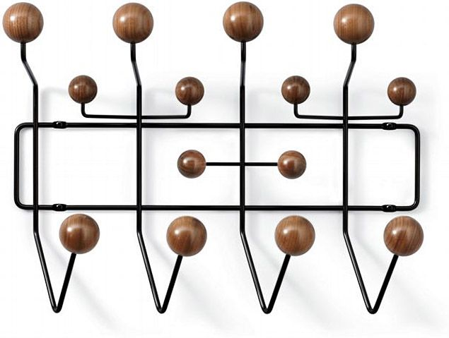 Eames - perfect coathook...have this in our playroom