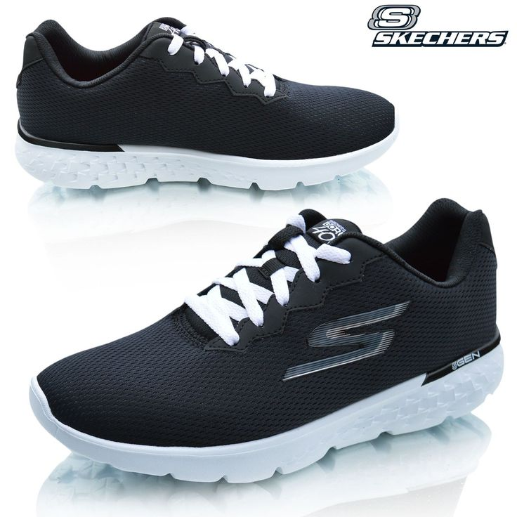 Skechers Womens Ladies GO Run Walking Running Sports Gym Fitness Trainers Shoes Support Type: Neutral to underpronation. Cushioning: Lightweight, flexible response. Surface: Road. Differential: Not provided. Ideal for treadmill running and workouts. Breathable sandwich mesh and synthetic upper materials. Lace-up closure. Quick-Fit Portal at heel for an easier on and off. Comfortable fabric lining offers a great in-shoe feel. Goga Run footbed absorbs impacting shock and adds underfoot…
