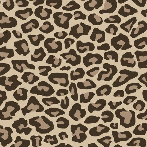 Siser Easyweed Patterned 18 Inches x 1 Foot Sheet - Leopard