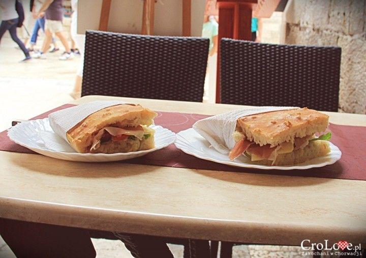 Przepyszne kanapki serwowane w buffecie Škola na starym mieście w Dubrowniku || http://crolove.pl/najlepsze-kanapki-w-dubrowniku/ || #sandwich #foodporn #food #dubrownik #dubrovnik #croatia #chorwacja #kroatien #hrvatska