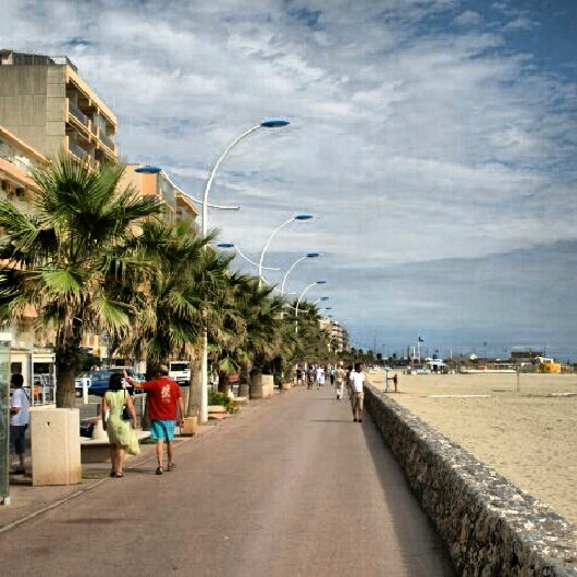 Canet Plage, South of France