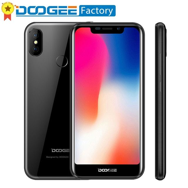 Doogee X70 4000mah 5 5 19 9 Screen Smartphone Android 8 1 Face