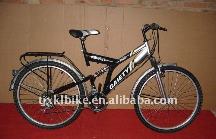cheap mountain bike1.Size:262.Frame:Hi-ten steel3.F R Suspension4.More than 10 years experience in this field  Please follow us @ http://www.pinterest.com/wocycling/