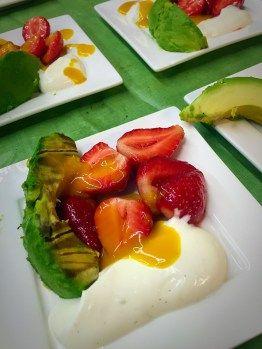 Melone und Avocado auf dem Grill? Warum nicht? Im #Grillseminar mit Metin Calis experimentieren wir viel.