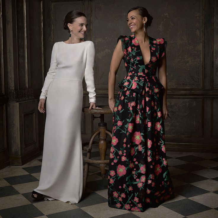 Natalie Portman & Rashida Jones Vanity Fair Oscar After Party Photographer: Mark Seliger