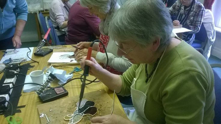 Stained glass workshop 2015