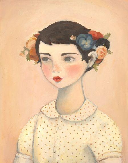 Emily Winfield Martin: Illustrations, Pansy, Pansies, Emily Martin, Winfield Martin, Apples, Emily Winfield