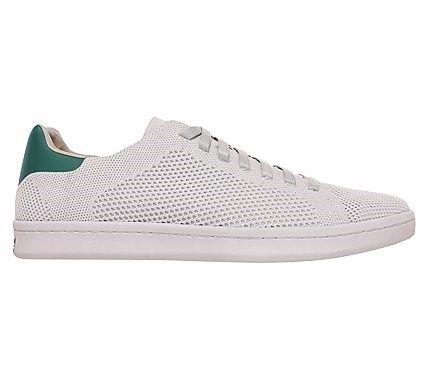 Mark Nason Skechers Men's Bryson Memory Foam Sneakers (White/Green)