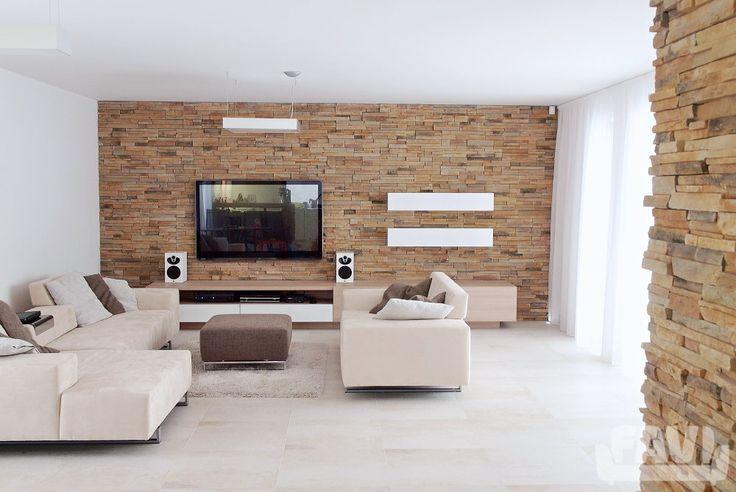 Minimalistické obývací pokoje inspirace - Rodinný dům u Mladé Boleslavi…