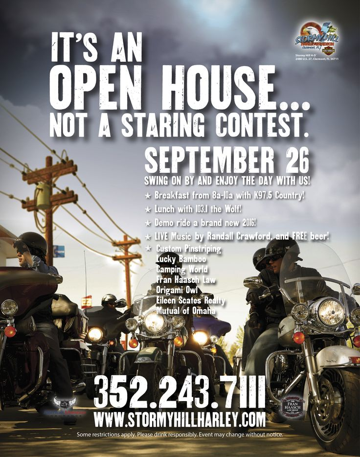 87 best stormy hill harley-davidson events images on pinterest
