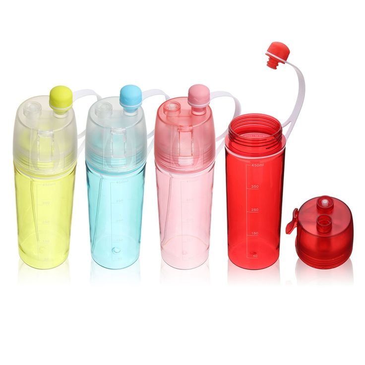 Cold Insulation Jug Outdoor Bike Bicycle Cycling Hiking Sports Drink Bottle Kettle Double-deck Sports Drink Spray Water Bottle