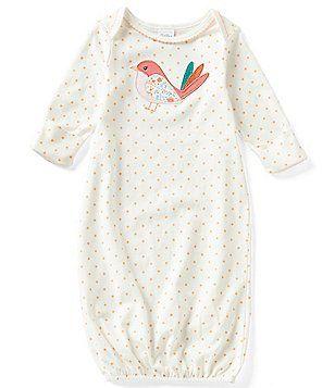 Starting Out Baby Girls´ Newborn-6 Months Dotted Bird-Applique Gown