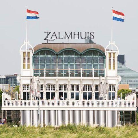 Het Zalmhuis, Rotterdam. The Netherlands - beautiful view @ Brienenoordbridge when you are biking.