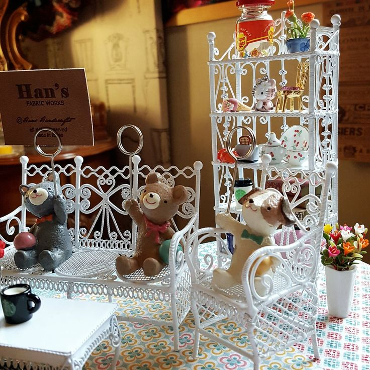 Wire Table and Chair Set $37
