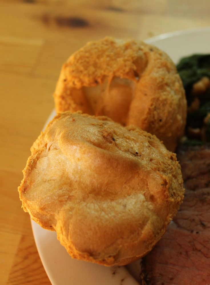Paleo yorkshire puds! Made with Tapioca flour