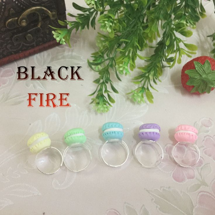 『black fire』戒指草莓蛋糕马卡龙lolita日系软妹洛丽塔甜系包邮-淘宝网全球站