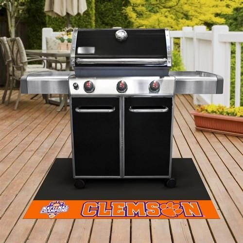 Clemson Tigers 2016-17 College Football Champions Grill Mat
