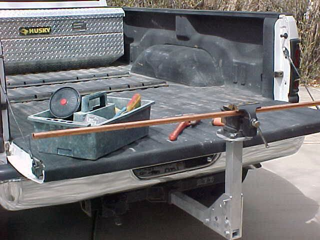 Toyota Tacoma Roof Rack >> Porta vise mounted notice tailgate can still be lowered ...