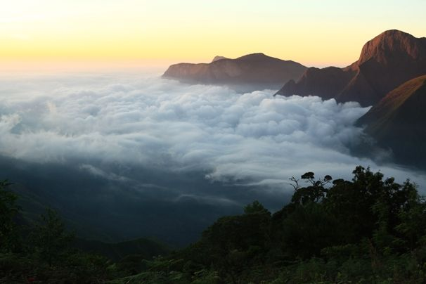 Top Station, Munnar.  A viewing point. You have to visit to experience it as words seems to be worthless