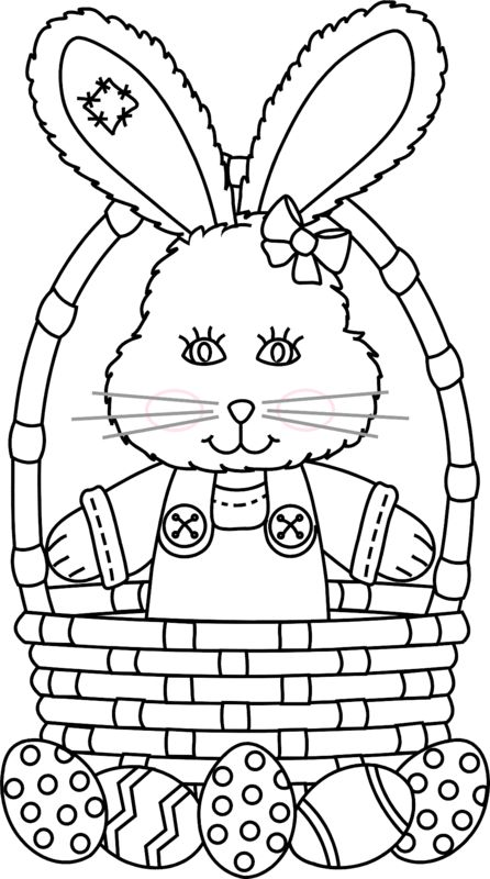 http://www.greatestcoloringbook.com/coloring-page/easter-bunny-standing-in-basket
