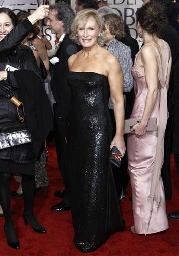 Glenn Close, Red Carpet Golden Globes 2010