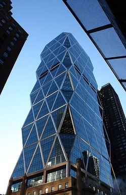 Ultra-Green Corporate Headquarters: Hearst Tower: Corporate Architecture, Hearst Towers, Favorite Places, Buildings, Corporate Headquarters, Editoriales Hearst, Towers Nyc, New York, Newyork