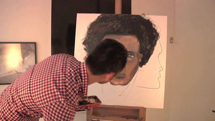 Lær at male et ansigt del 7 - hals og baggrund - med Martin Quade