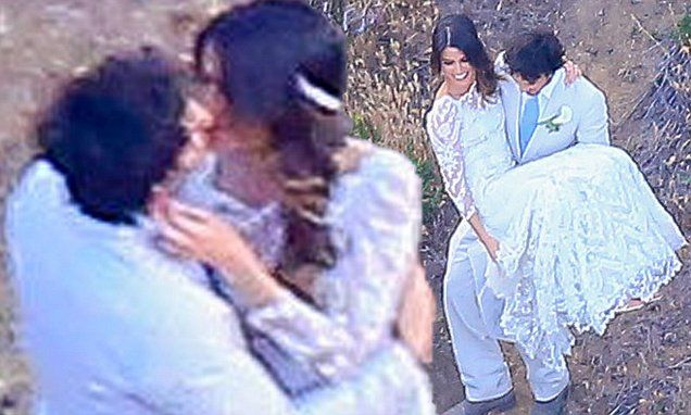 Ian Somerhalder and Nikki Reed are officially married  http://www.dailymail.co.uk/tvshowbiz/article-3057128/Nikki-Reed-Ian-Somerhalder-tie-knot.html