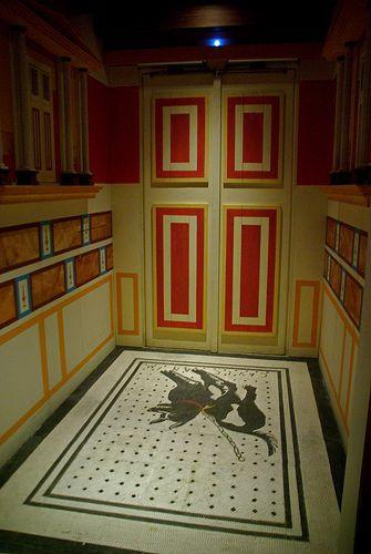 Fauces O Entrada D Una Domus Romana Romanorum Vita